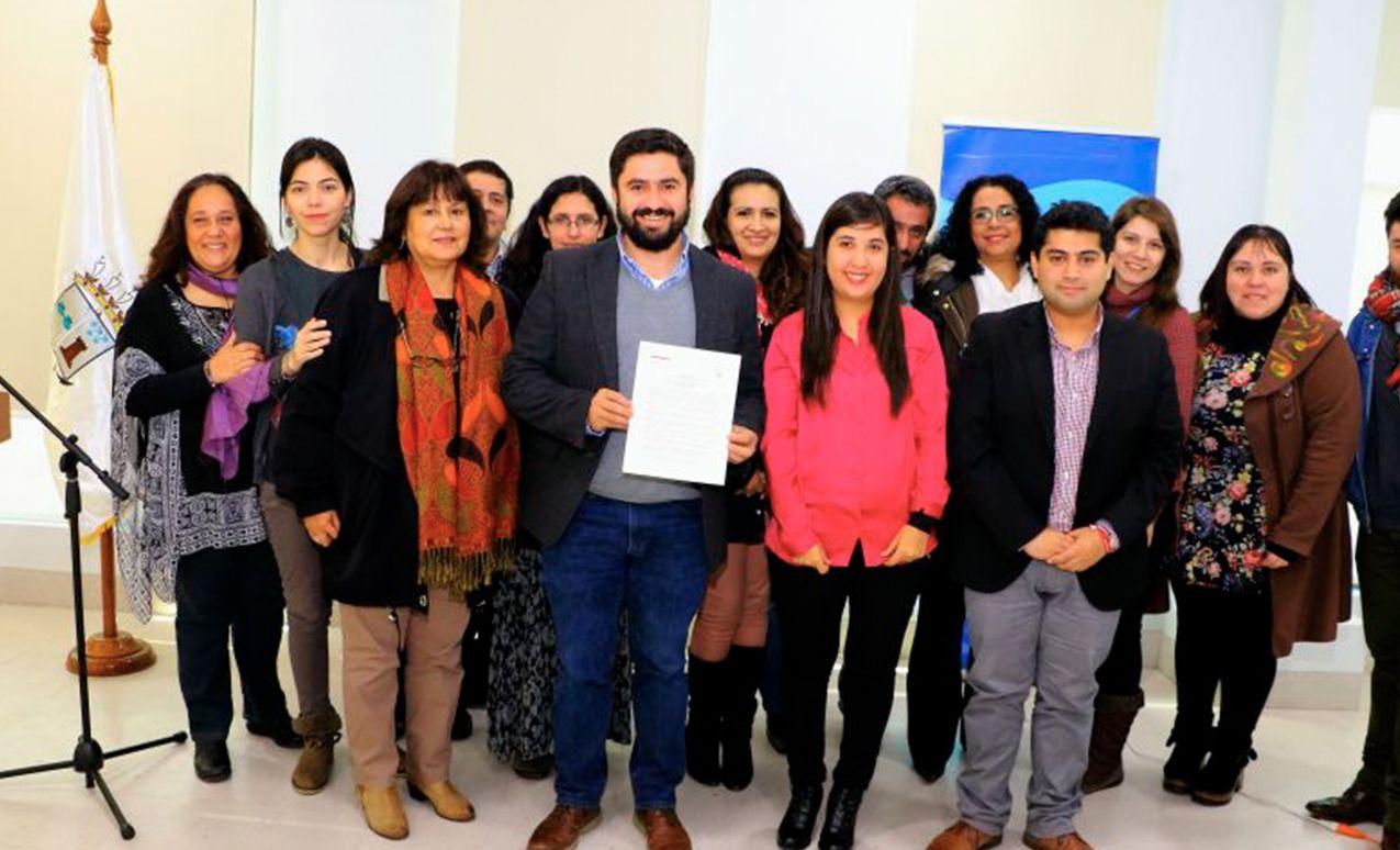 Prevención y rehabilitación de consumo de drogas objetivo de nuevo convenio entre Municipalidad y Senda